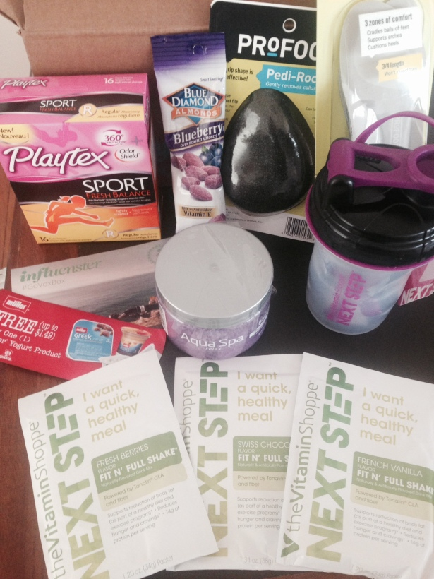Fitness VoxBox Goodies